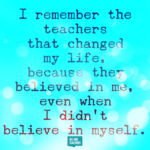 Quotes About Teachers Changing Lives Pinterest