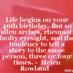 Quotes For 40th Birthday Woman Facebook