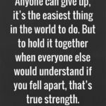 Quotes For Strength During Hard Times Pinterest
