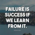 Quotes From Failure To Success Pinterest