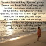 Quotes Of Losing Someone Special