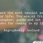 Quotes On Special Person In My Life Pinterest