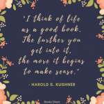 Rabbi Harold Kushner Quotes Tumblr
