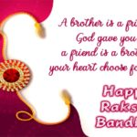 Raksha Bandhan Quotes For Sister In English Facebook