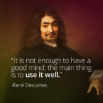 Rene Descartes Famous Quotes Facebook