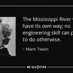 River Quotes Mark Twain Facebook