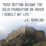 Rock Bottom Quote Jk Rowling Tumblr