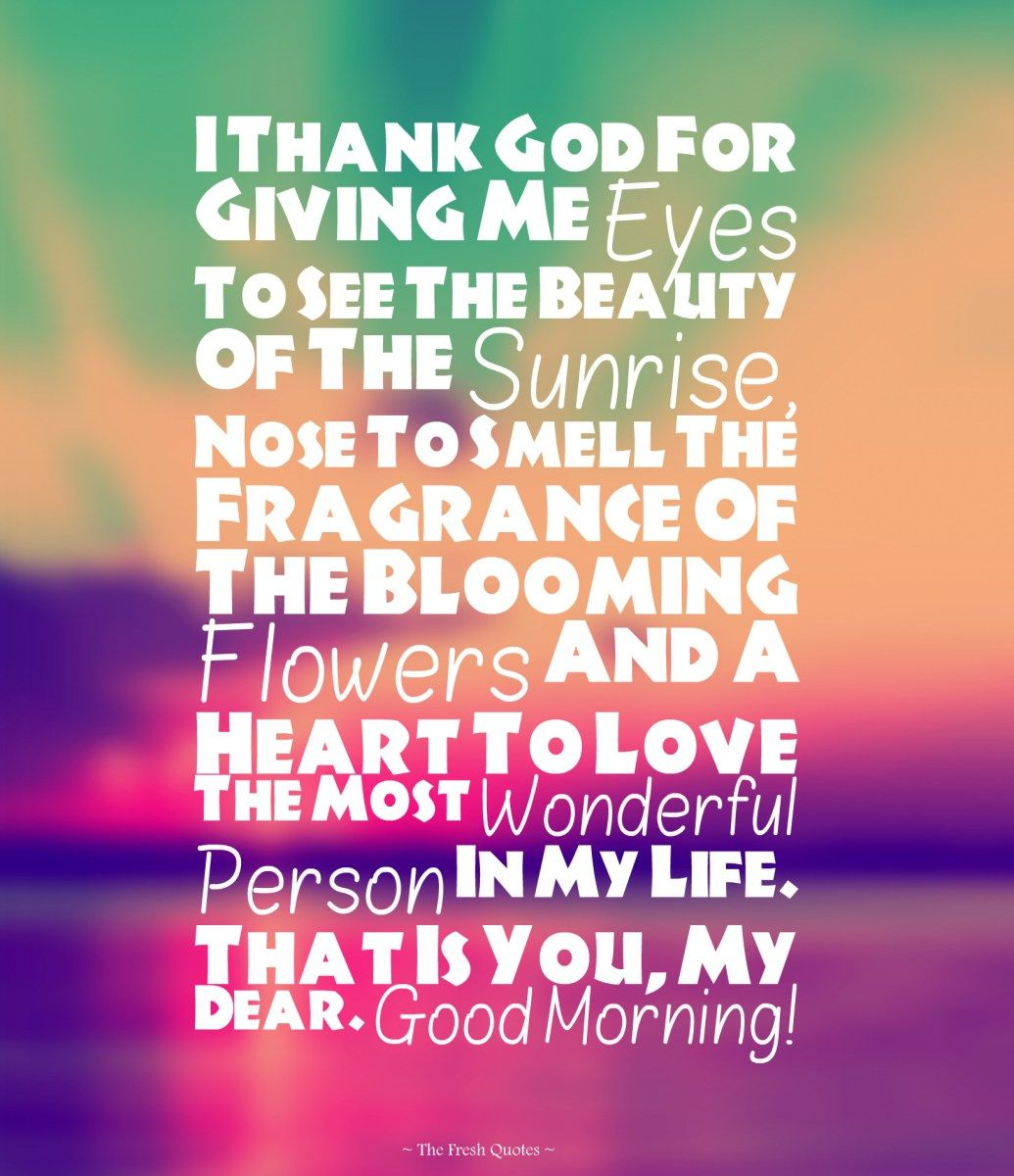 Romantic Good Morning Love Quotes For Her Twitter