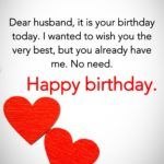 Romantic Happy Birthday Wishes For Husband Facebook