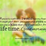 Romantic Morning Quotes Twitter