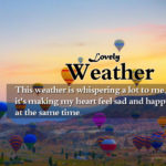 Romantic Weather Quotes For Him Pinterest