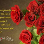Rose Day Friendship Quotes Facebook