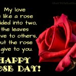Rose Day Lines For Gf Twitter