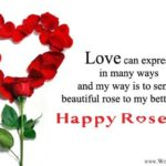 Rose Day To Wife Pinterest