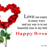 Rose Day Wishes To Husband Facebook