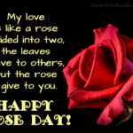 Rose Day With Quotes