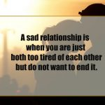 Sad Relation Quotes