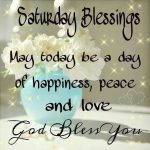 Saturday Blessings Quotes Tumblr