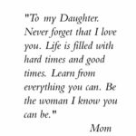 Short Quotes For My Daughter