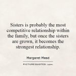 Sister & Family Quotes