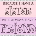 Sister & Family Quote