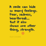 Smile Behind Sadness Quotes Tumblr