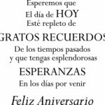 Spanish Anniversary Quotes With Image