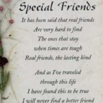 Special Friend Poems And Quotes Tumblr