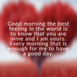 Special Morning Quotes For Her Facebook