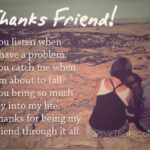 Special Thanks Quotes For Friends Twitter