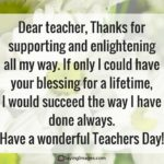 Special Thoughts For Teachers Day Twitter