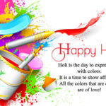 Status On Holi Facebook