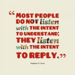 Stephen Covey Quotes Listening Facebook