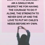 Strength Quotes For Single Mothers Pinterest