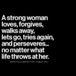 Strong Woman Phrases Facebook