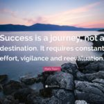Success Is A Journey Not A Destination Quote Facebook