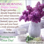 Sunday Good Morning Wishes With Flowers Facebook
