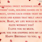 Sweet Birthday Message For Boyfriend Facebook
