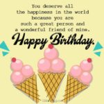 Sweet Birthday Messages For A Friend Pinterest