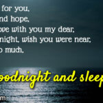 Sweet Good Night Love Message For My Wife Twitter