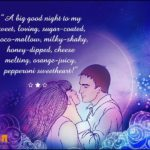 Sweet Good Night Sms For Girlfriend Pinterest