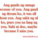 Sweet Message For Crush Tagalog Twitter