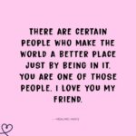 Sweet Quotes For Your Friend Facebook