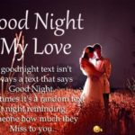 Sweet Romantic Good Night Message For My Wife Pinterest