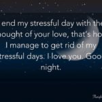 Sweet Romantic Good Night Text For Her
