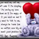 Tatty Teddy Love Quotes