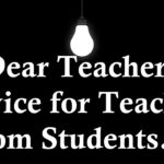 Teachers Advice To Students Quotes