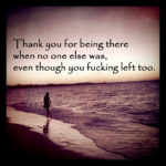 Thank You For Being There For Me Quotes Twitter