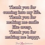 Thank You For Making Me Happy Quotes Facebook