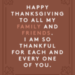 Thankful For My Family And Friends Quotes Pinterest